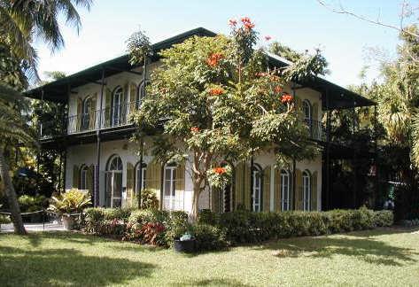 Ernest Hemingway Mansion Key West Florida