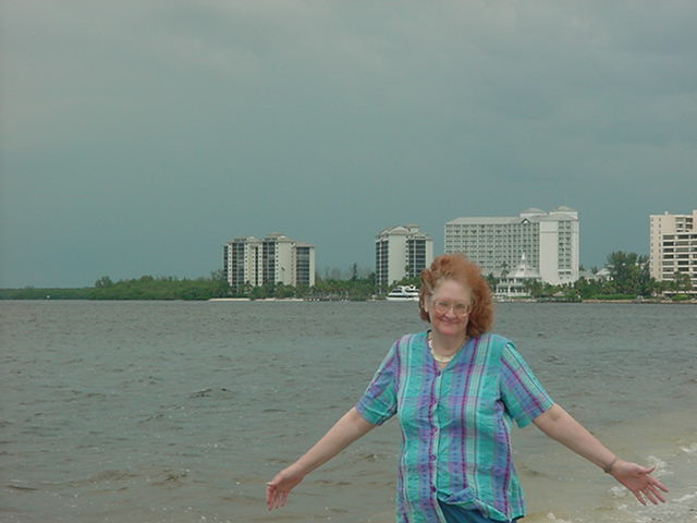 me on Sanibel Island Florida
