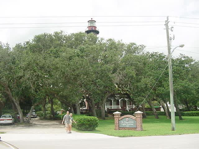 St Augustine Lighthouse Station Anastasia Island