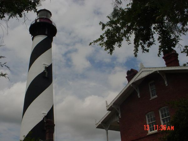 St Augustine Lighthouse Station Anastasia Island